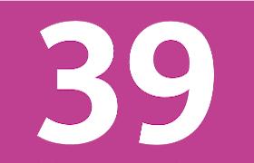 Logo ligne de bus 39