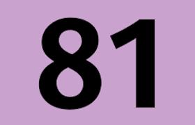 Logo ligne de bus 81